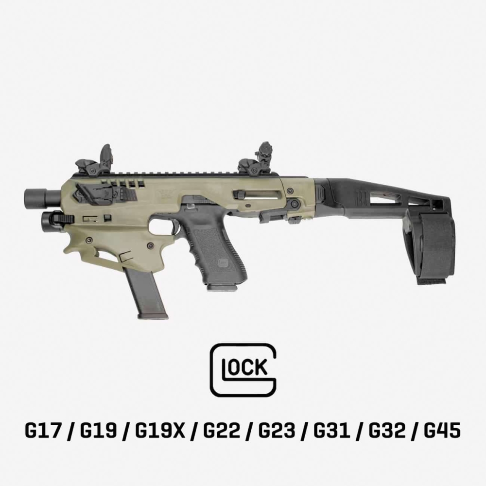 MCK | Micro Conversion Kit (Glock 17/ 19/ 19X/ 22/ 23/ 31/ 32/ 45)