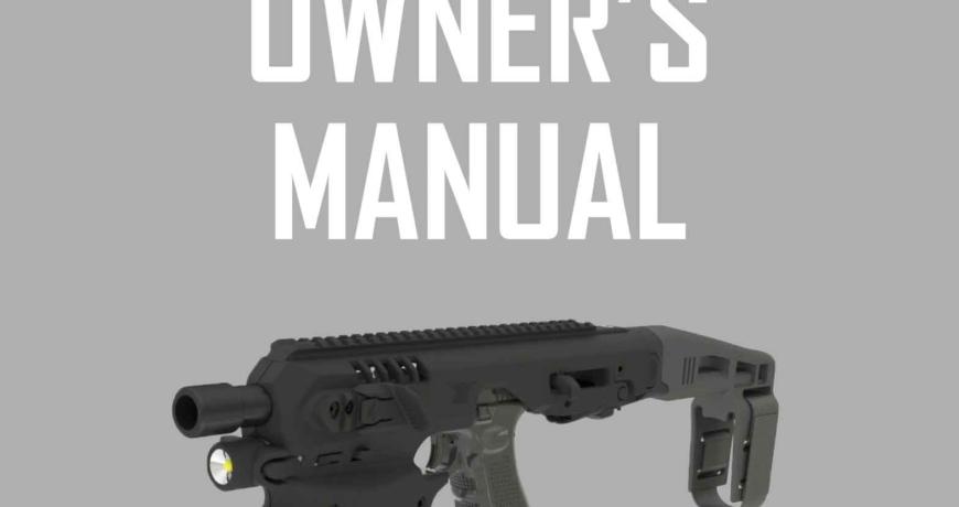 MCK Owner's Manual