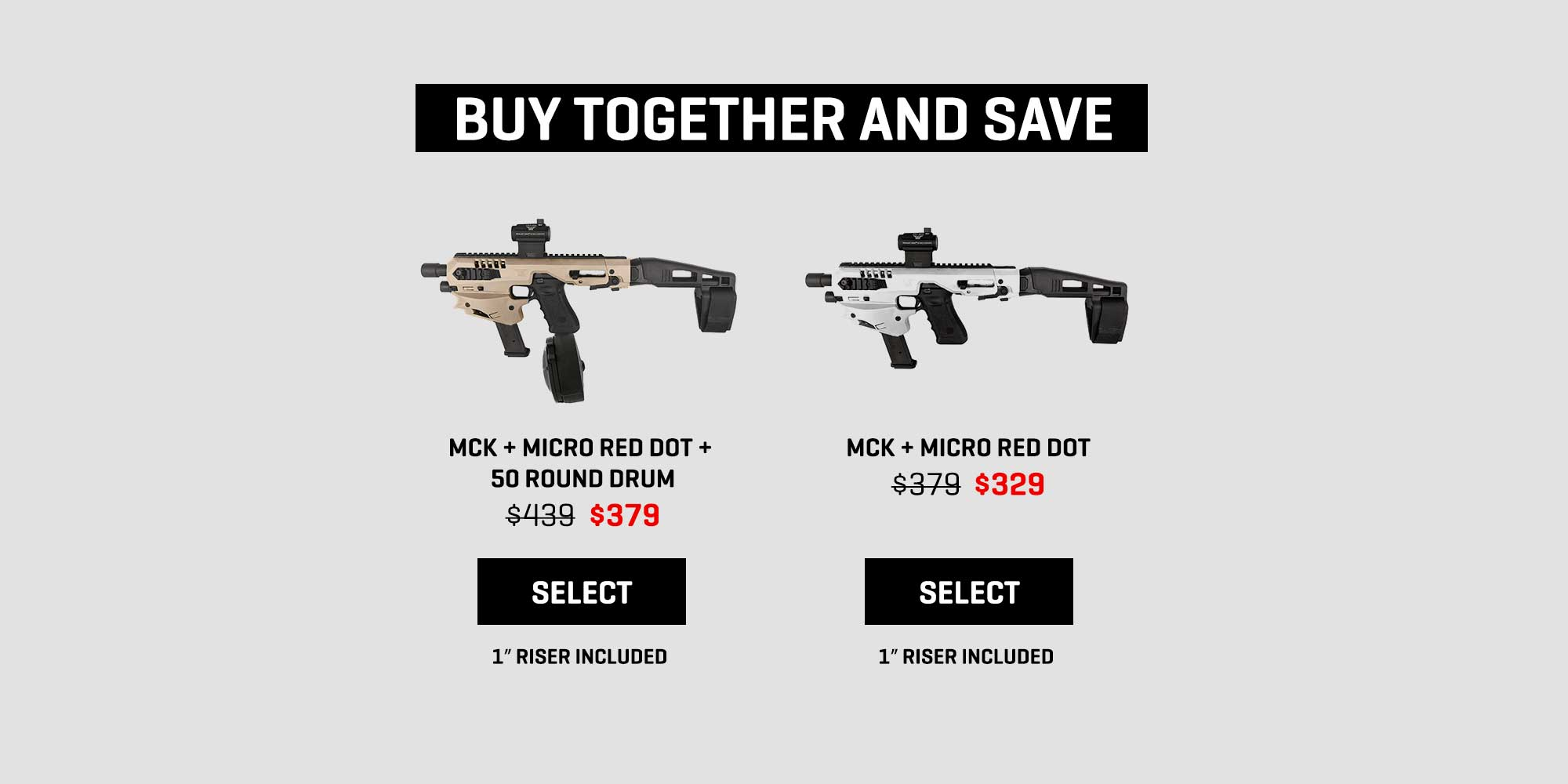 MCK Red Dot Sale