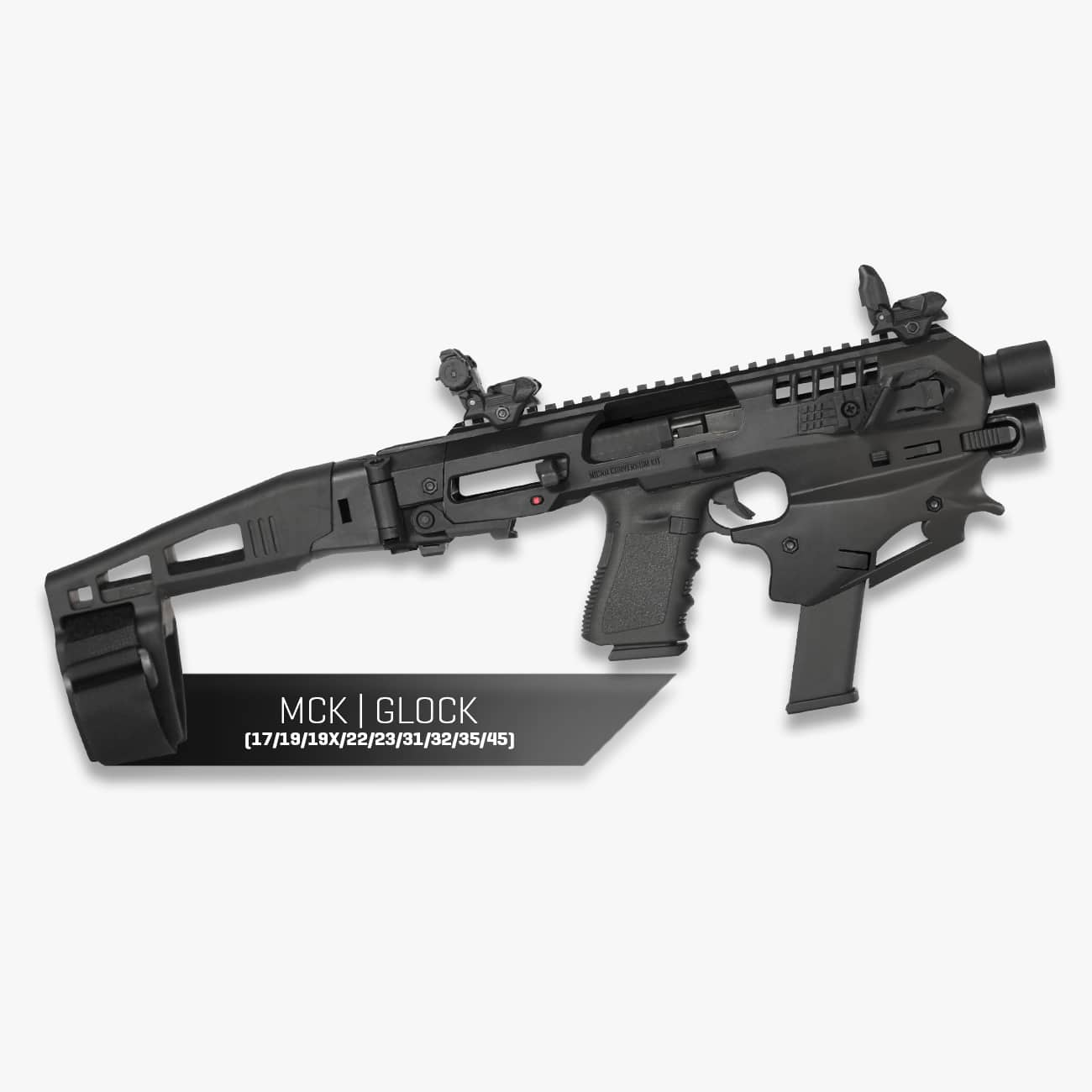 MCK | Micro Conversion Kit (Glock 17/19/19X/22/23/31/32/45)